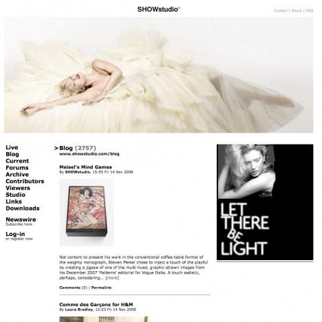 www.showstudio.com