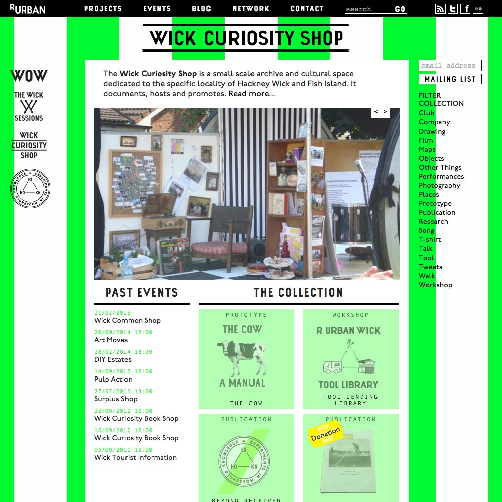 wickcuriosityshop.net home page