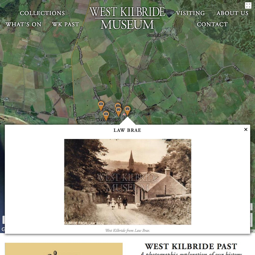 West Kilbride Museum, WK Past, 2016