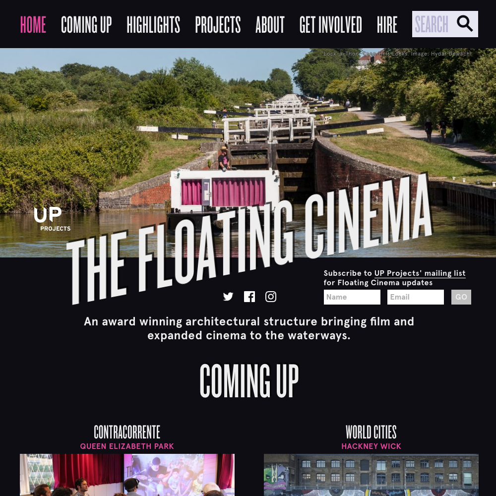 www.floatingcinema.info 2016 home page
