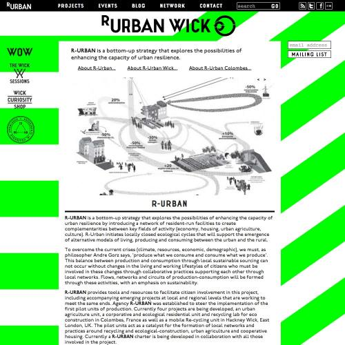 r-urban-wick.net home page