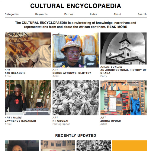 Cultural Encyclopaedia 2016 Home Page