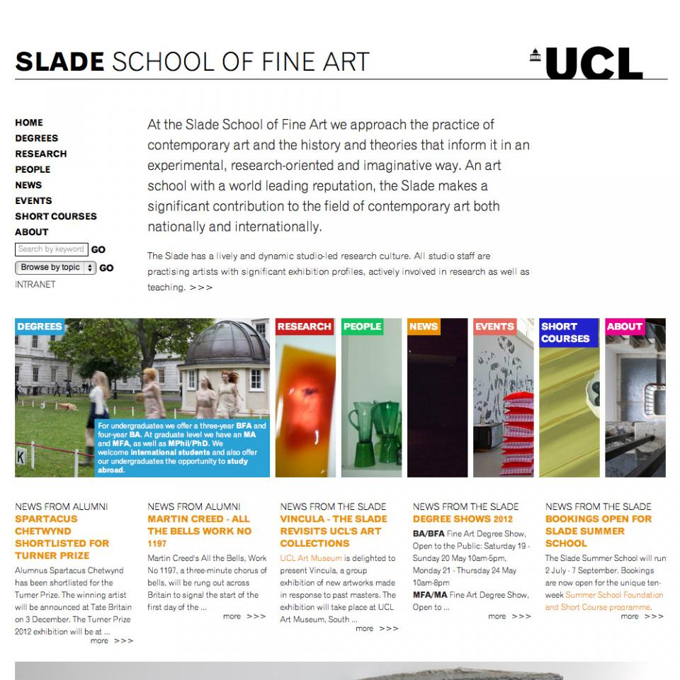 Slade+School+of+Fine+Art+Home+Page