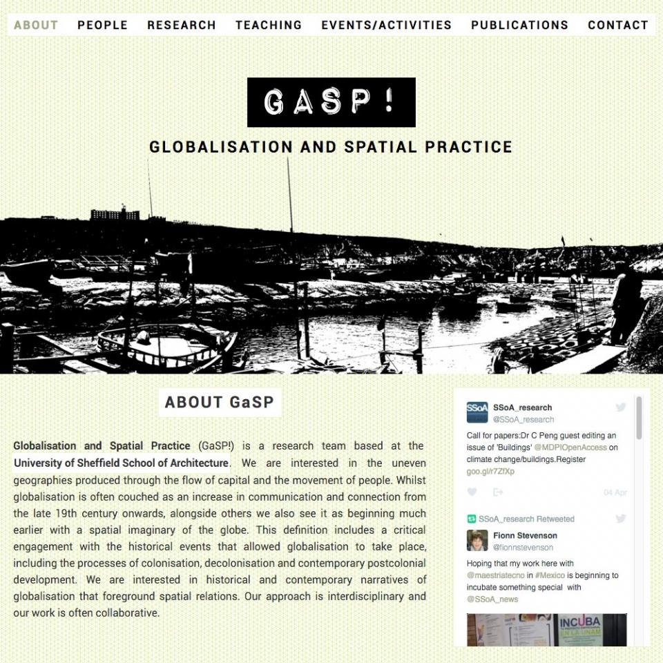 Globalisation and Spatial Practise